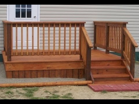 Mobile Home Diy Deck Plans Level My Mobile Home