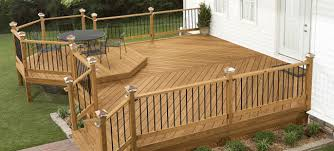 Mobile home deck plans.