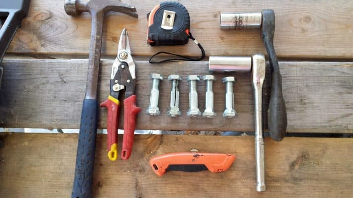 tools to install an anchor