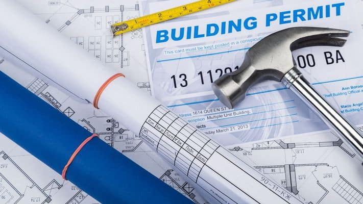 building permits may be needed
